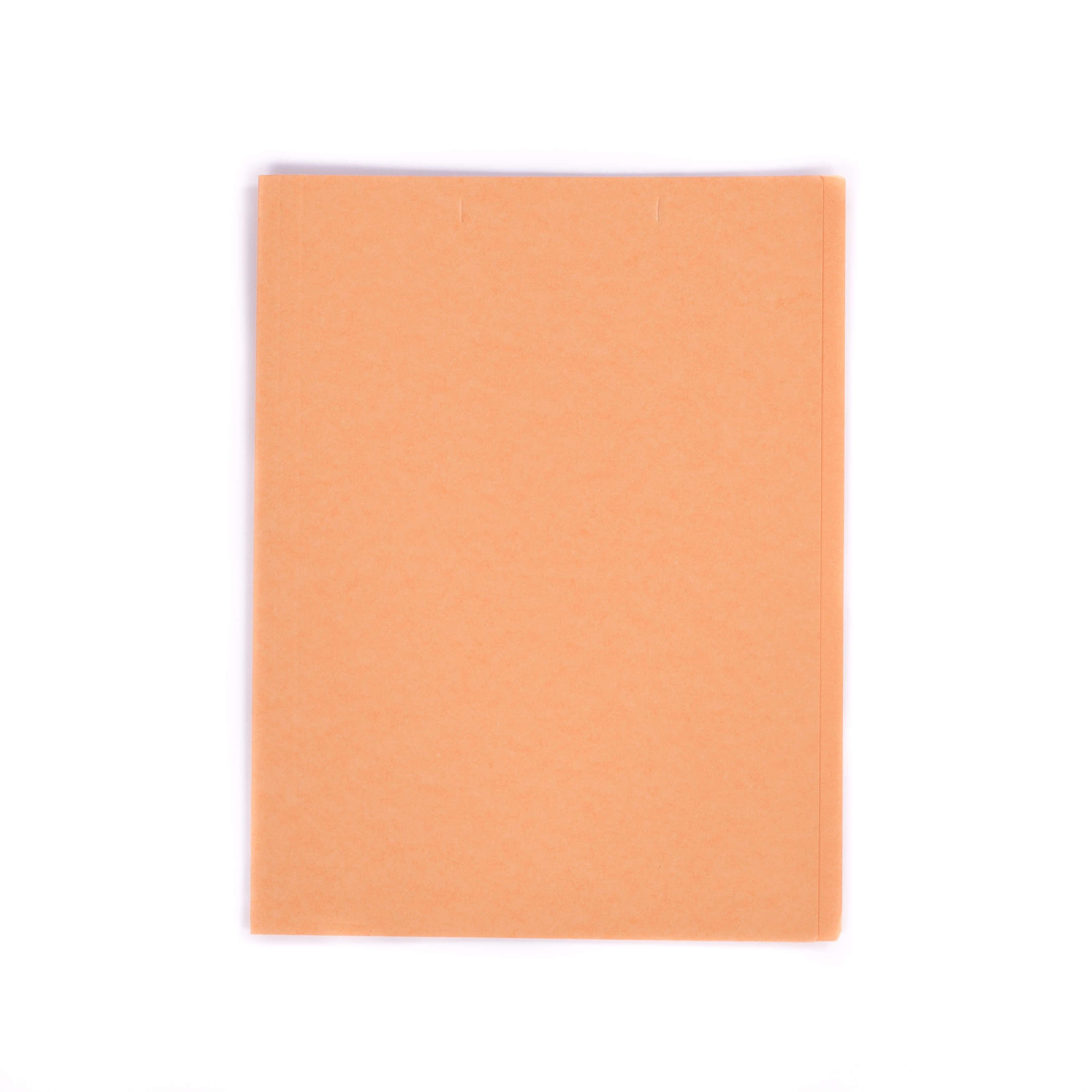 แฟ้มพับกระดาษ ตราใบโพธิ์ สีส้ม A4