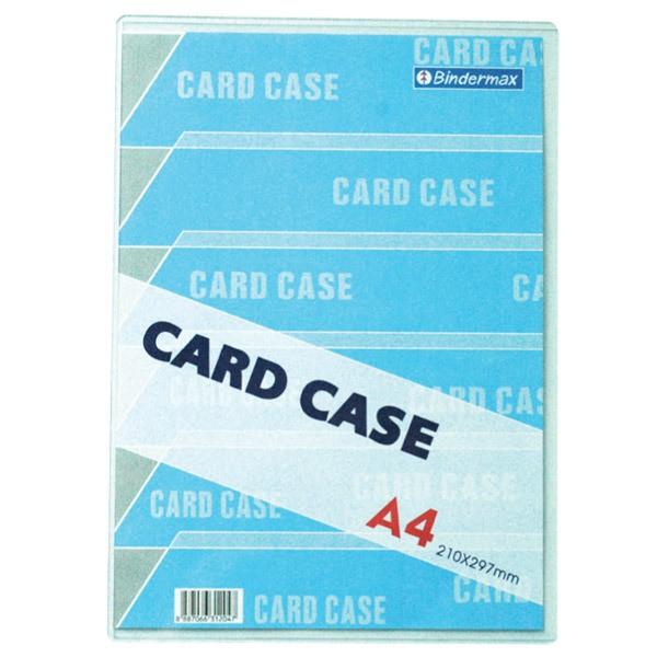 ซองพลาสติกแข็ง Card Case BINDERMAX A4