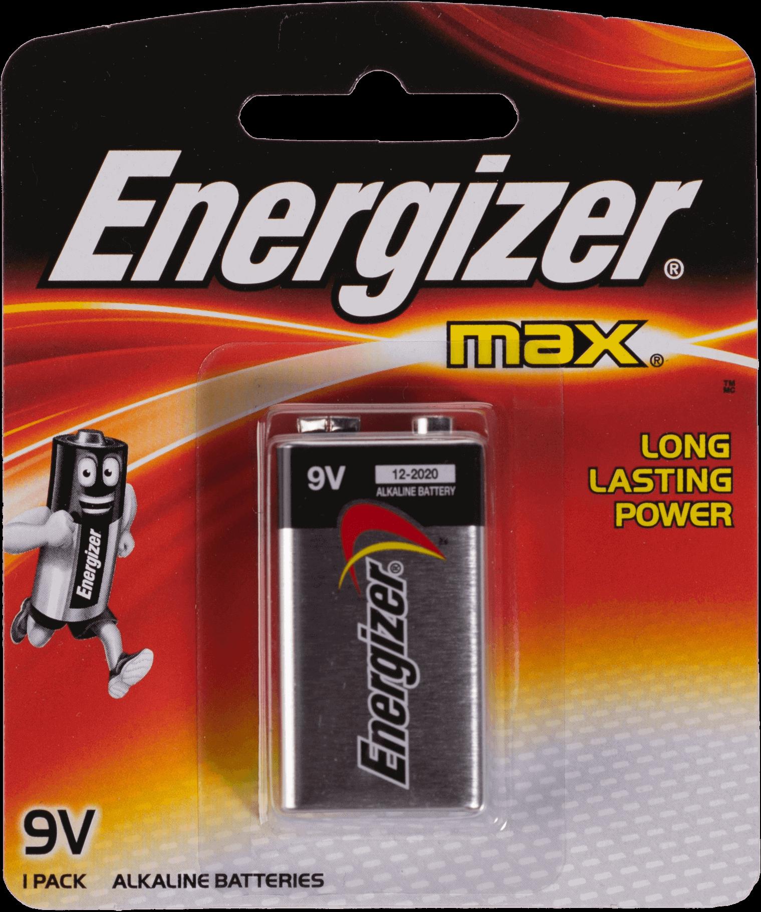 ถ่านไฟฉายอัลคาไลน์ Energizer No. 522-BP1 ขนาด 9v