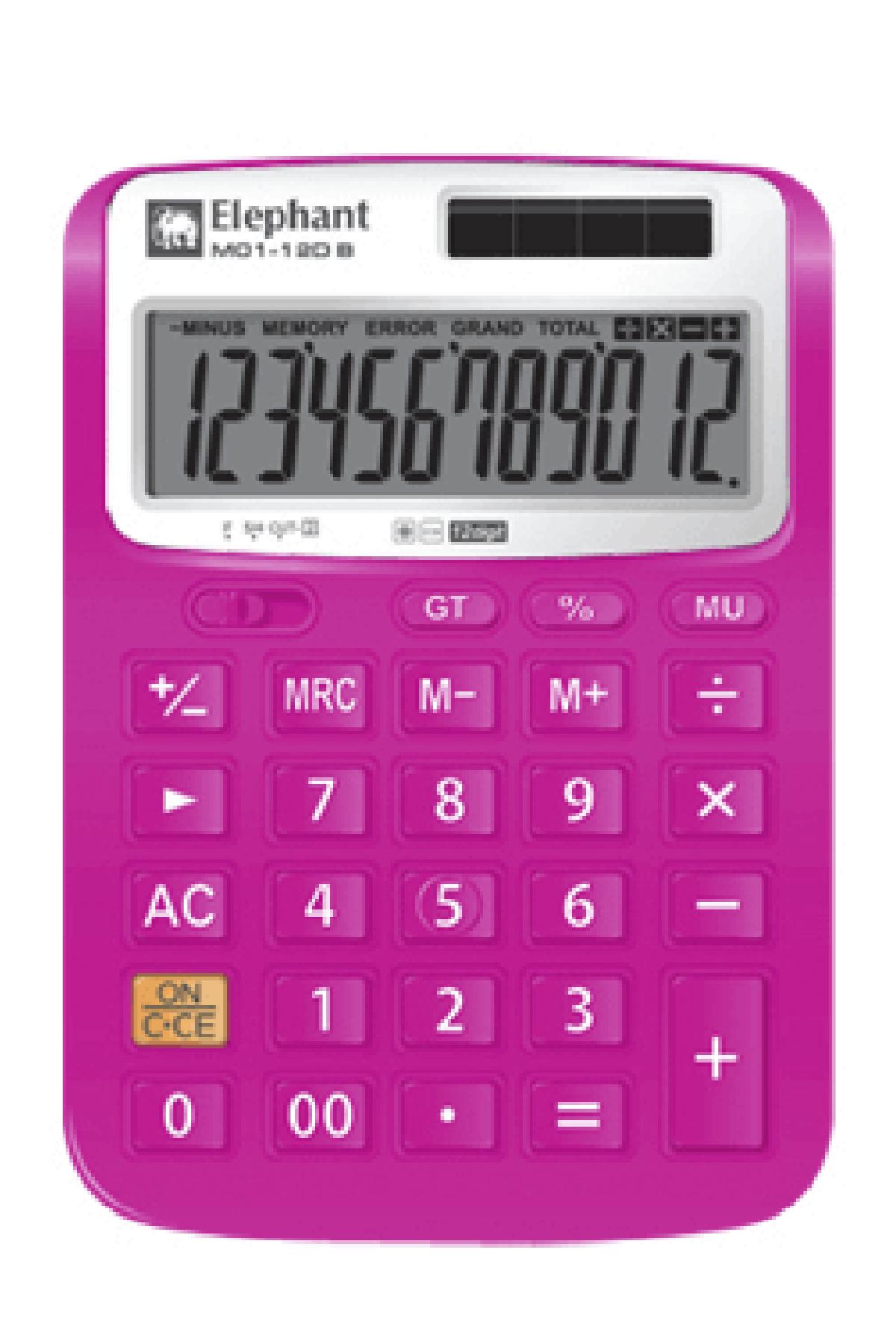 ตราช้าง เครื่องคิดเลข รุ่น M01-12DP
