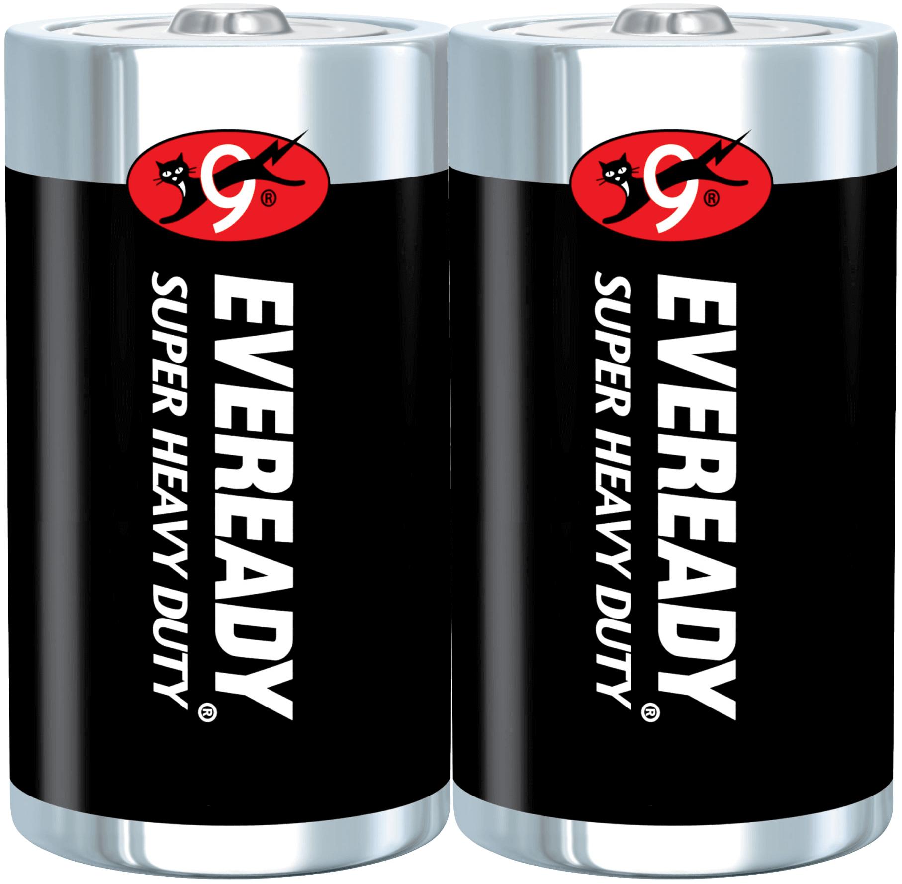 ถ่านไฟฉาย Eveready 1250-BP2