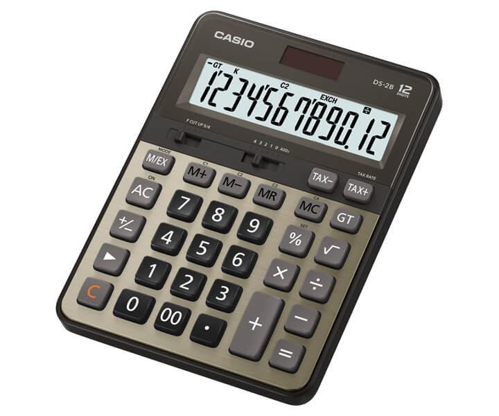 เครื่องคิดเลข Casio DS-2B-GD 12หลัก