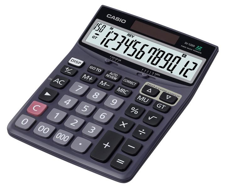 เครื่องคิดเลข Casio DJ-120D 12 หลัก