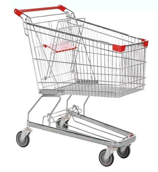 รถเข็น Shopping Happy Move A180 (180ลิตร) 58.5×82x101.5ซม.