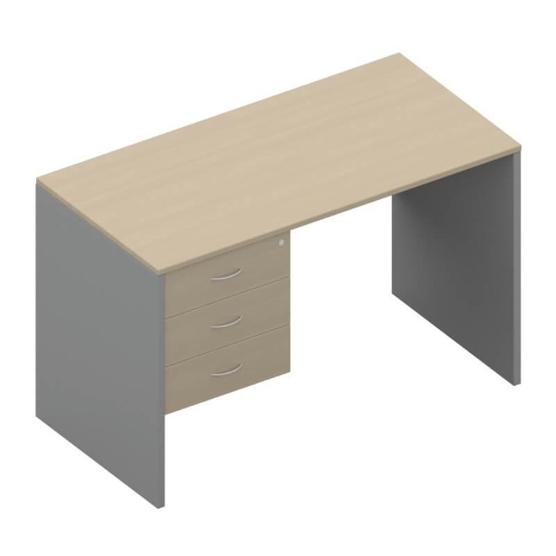 โต๊ะทำงานไม้ APEX SD1-PF-1230-80