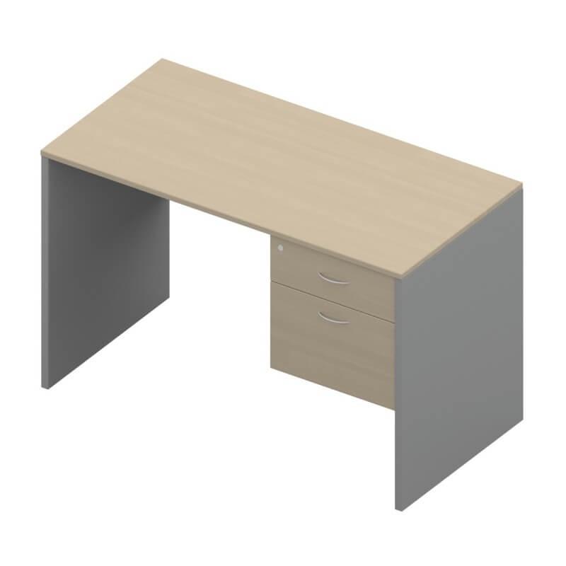 โต๊ะทำงานไม้ APEX SD1-PF-1202-80