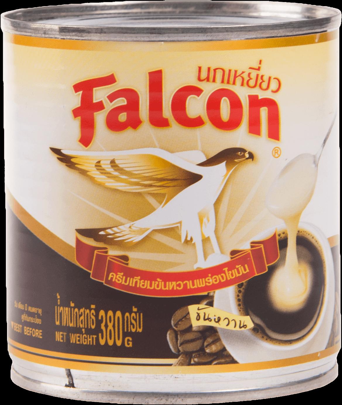 นมข้นหวาน นกเหยี่ยว 380 กรัม