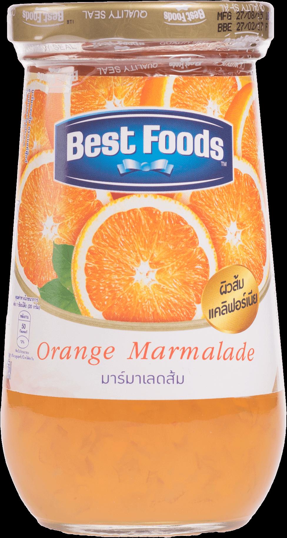 แยมผลไม้ Best Foods รสส้มมาร์มาเลด 400กรัม