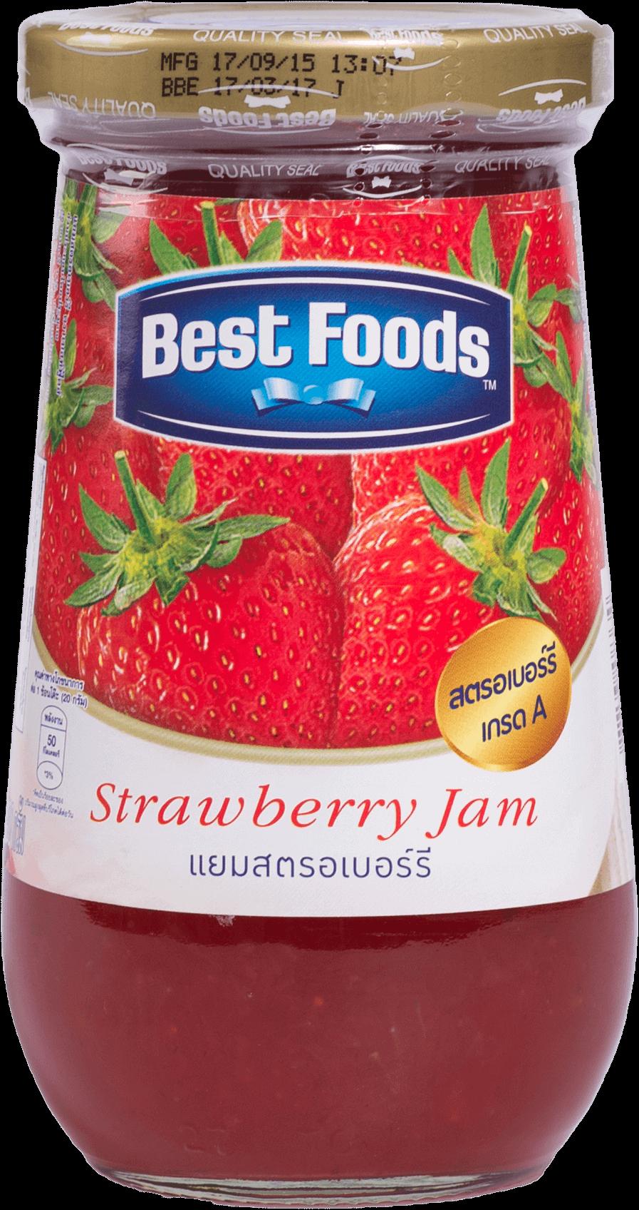 แยมผลไม้ Best Foods รสสตรอเบอรี๋ 400กรัม