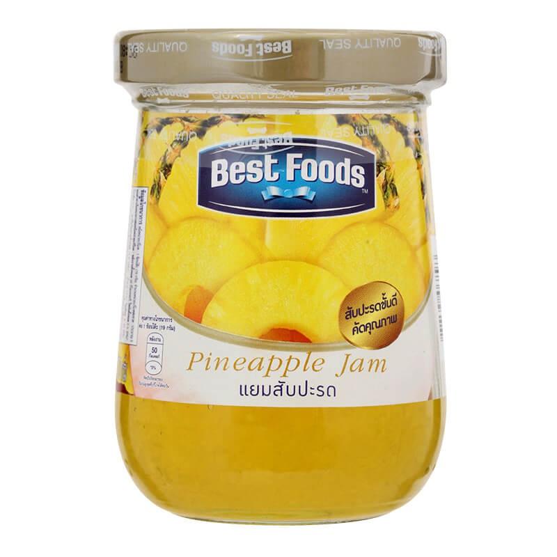 แยมผลไม้ Best Foods รสสับปะรด 400กรัม