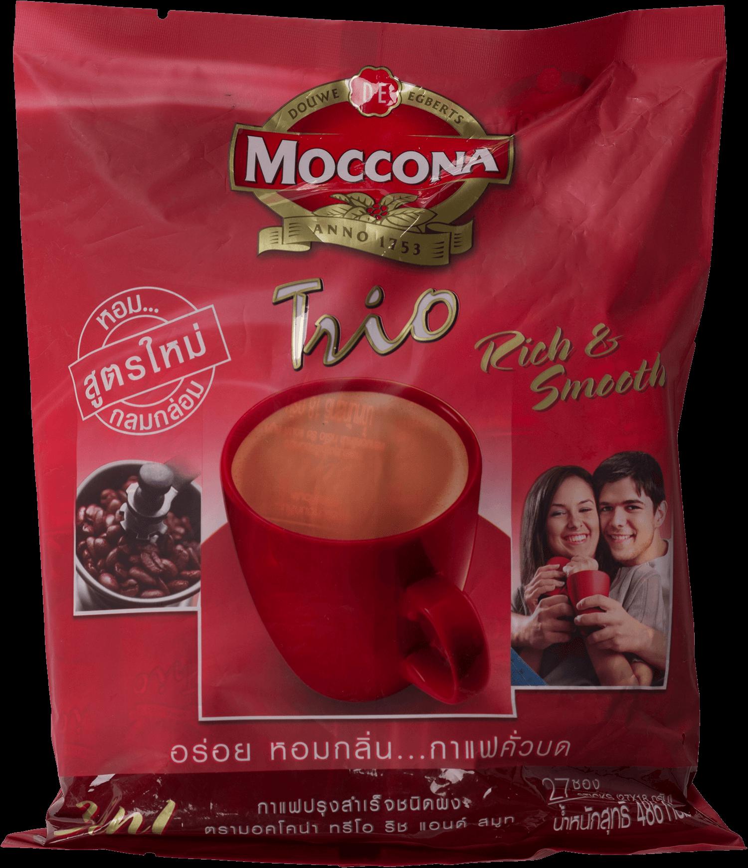 กาแฟ มอคโคน่า ทรีโอ 3in1   Rich& Smooth