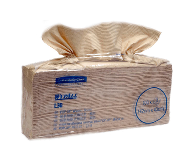 กระดาษเช็ดทำความสะอาด WYPALL L30 Pop up 28081-1