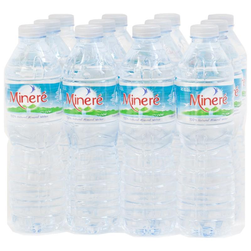 น้ำดื่ม มิเนเร่ (600มล.x12)