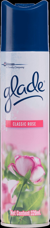 สเปรย์ปรับอากาศ Glade  กลิ่นคลาสสิคโรส