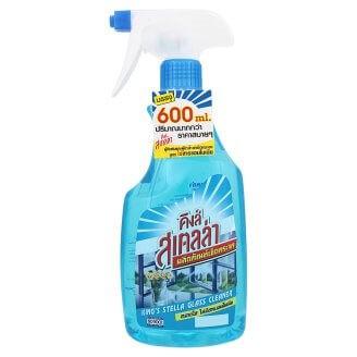 น้ำยาเช็ดกระจกแบบสเปรย์ King'Stella 600 ml.