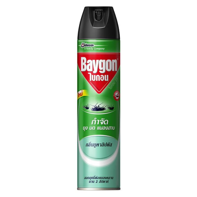 สเปรย์กำจัดยุง ไบกอน กลิ่นยูคาลิปตัส 600 ml.