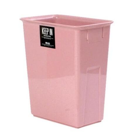ถังขยะพลาสติก สแตนดาร์ด RW9078 (11 ลิตร) สีชมพู