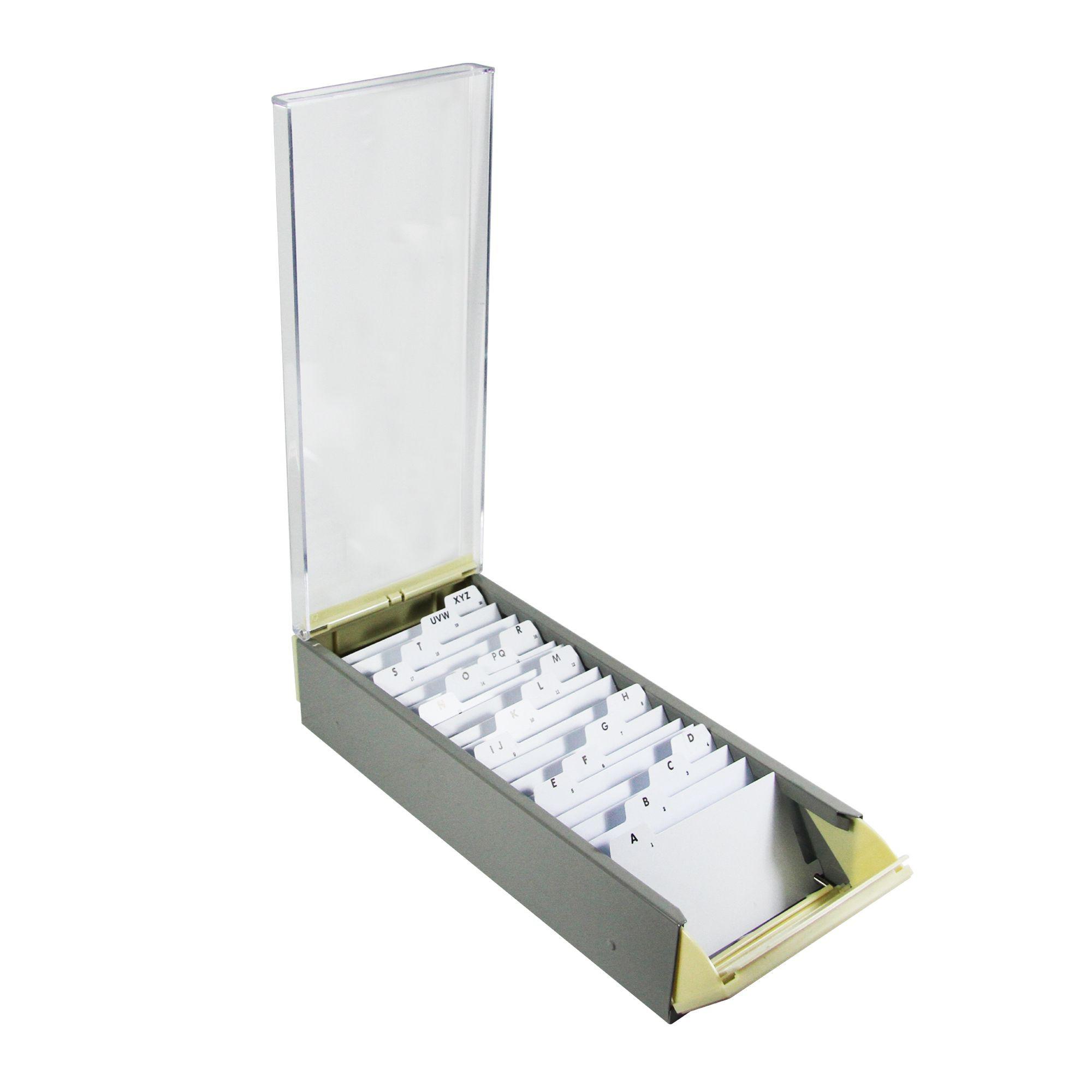 กล่องใส่นามบัตร EAGLE 818L(700 ใบ)