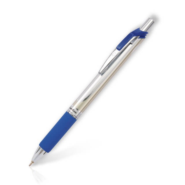 ปากกาลูกลื่น Quantum GeloPlus Power 0.7มม. 1246 สีน้ำเงิน