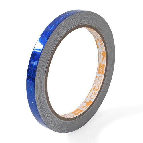 เทปตีเส้นเลเซอร์ Croco PVC สีน้ำเงิน 9 มม.x9 หลา