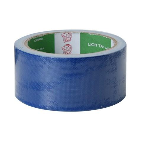 เทปผ้า LION สีน้ำเงิน 48 มม.x 8 หลา