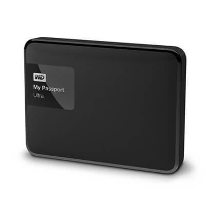 ฮาร์ดดิสก์ขนาดพกพา WD My Passport Ultra Ex HDD 1TB สีดำ