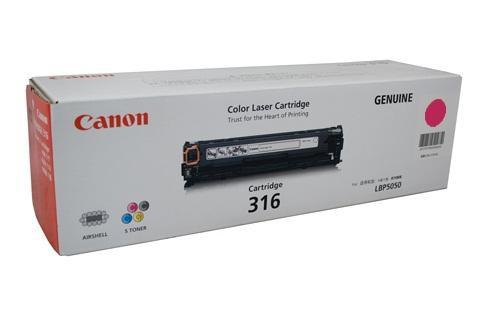 ตลับหมึก Canon Cartridge 316M ชมพู