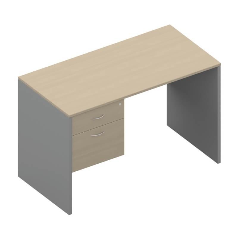 โต๊ะทำงานไม้ APEX SD1-PF-1220-80